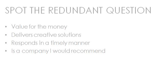 Redundant Questions 3