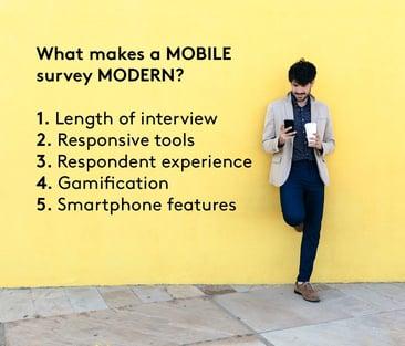 mobile vs modern